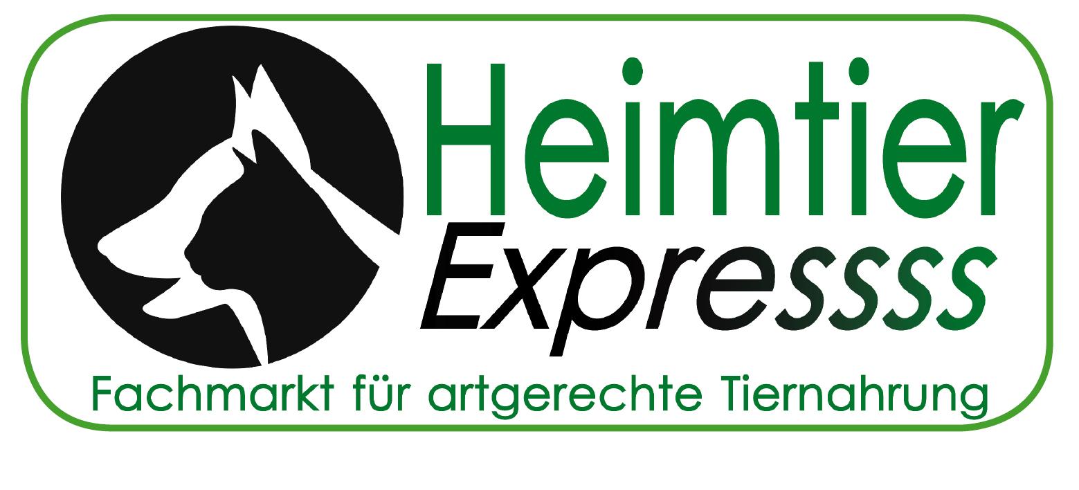Heimtier Express Ihr Fachmarkt für artgerechte Tiernahrung-Logo